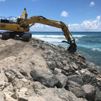 Bulky Dump Revetment Construction 6
