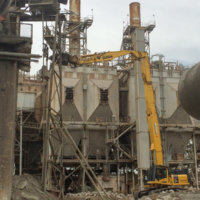 Cement Plant Demolition 14