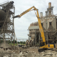 Cement Plant Demolition 18