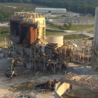 Cement Plant Demolition 30