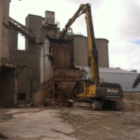 Cement Production Facility Demolition 05