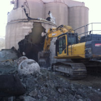 Cement Production Facility Demolition 07