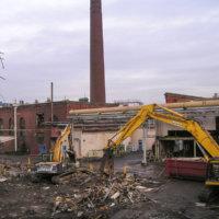 Chlor Alkali Evaporator Plant Demolition 06