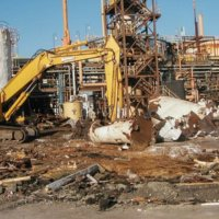 Chlor Alkali Evaporator Plant Demolition 11