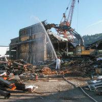 Chlor Alkali Evaporator Plant Demolition 12