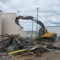 Chlor Alkali Evaporator Plant Demolition 15