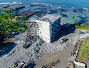 KEAUHOU BEACH HOTEL & SITE DEMOLITION