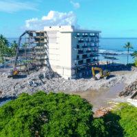 Keauhou Beach Hotel Demolition 08