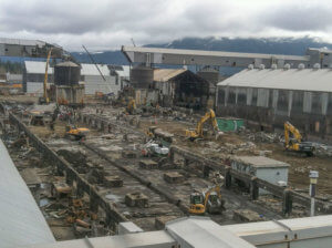 KITIMAT ALUMINUM SMELTER CLEANING & DEMOLITION
