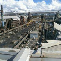 Kitimat Aluminum Smelter Demolition 10