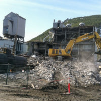 Kitimat Aluminum Smelter Demolition 12