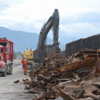 Kitimat Aluminum Smelter Demolition 27