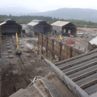 Kitimat Aluminum Smelter Demolition 29