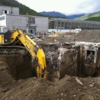 Kitimat Aluminum Smelter Demolition 30