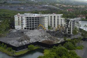 KONA LAGOON HOTEL DEMOLITION