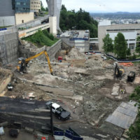 OHSU School of Dentistry Demolition 13