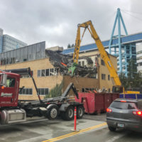 OHSU School of Dentistry Demolition 16