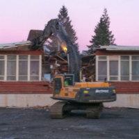 Prince Rupert Elementary Demolition 04