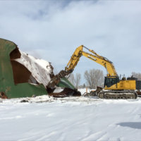 Retail Fertilizer Plant Demolition 8