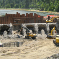 Savage Rapids Dam Removal 6