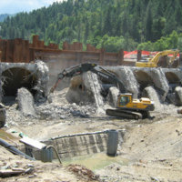 Savage Rapids Dam Removal 7