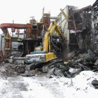 Vanadium Manufacturing Facility Demolition 4