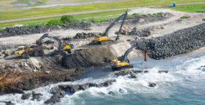 FORMER NAVY DUMP METALS REMOVAL & REVETMENT CONSTRUCTION