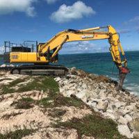 Bulky Dump Revetment Construction 5
