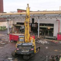 Chlor Alkali Evaporator Plant Demolition 07