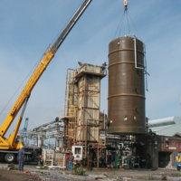 Chlor Alkali Evaporator Plant Demolition 19