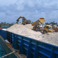 Johnston Atoll Chemical Weapons Incinerator Demolition 09