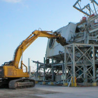 Johnston Atoll Chemical Weapons Incinerator Demolition 11
