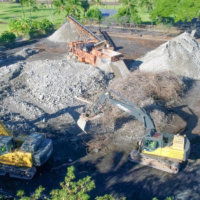 Keauhou Beach Hotel Demolition 09