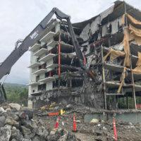 Keauhou Beach Hotel Demolition 13