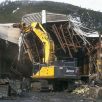Kitimat Aluminum Smelter Demolition 11