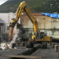 Kitimat Aluminum Smelter Demolition 13