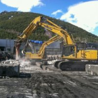 Kitimat Aluminum Smelter Demolition 15