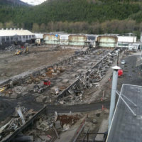 Kitimat Aluminum Smelter Demolition 16