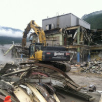 Kitimat Aluminum Smelter Demolition 31