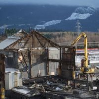 Kitimat Aluminum Smelter Demolition 37