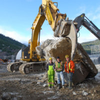 Kitimat Aluminum Smelter Demolition 43