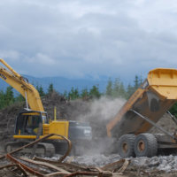 Kitimat Aluminum Smelter Demolition 45