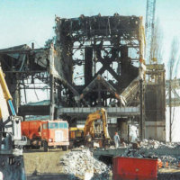 Lincoln Steam Plant Demolition 02
