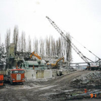 Lincoln Steam Plant Demolition 03