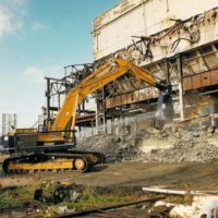 Lincoln Steam Plant Demolition 05
