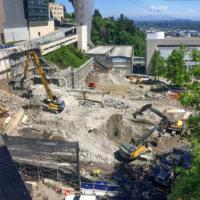 OHSU School of Dentistry Demolition 01 Header