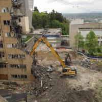 OHSU School of Dentistry Demolition 02
