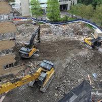 OHSU School of Dentistry Demolition 03