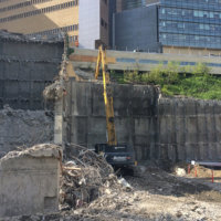 OHSU School of Dentistry Demolition 04