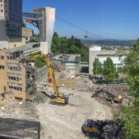 OHSU School of Dentistry Demolition 05